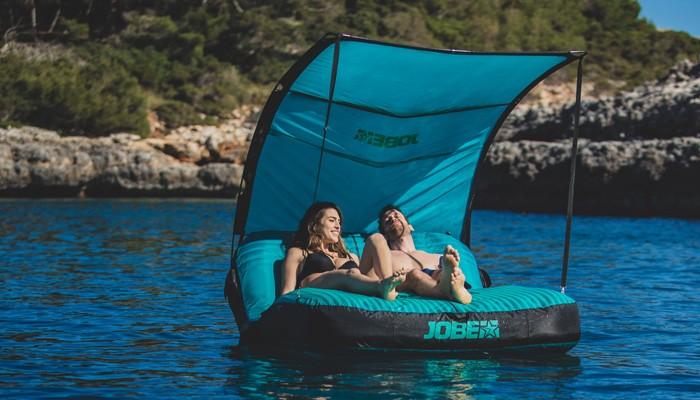 Why the Laysea is perfect for being lazy on the water