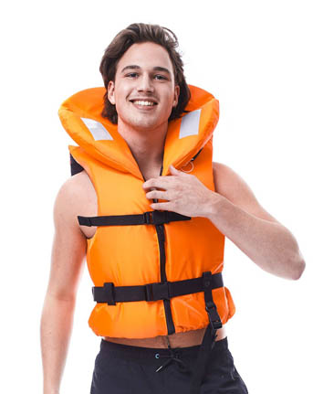 Jobe Comfort Boating Life Vest Orange
