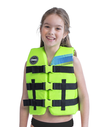 Jobe Nylon Life Vest Kids Lime Green