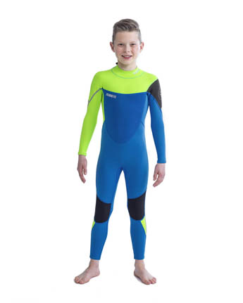Jobe Boston 3/2mm Wetsuit Lime/Blue