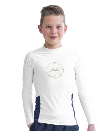 Rash Guard Longsleeve Youth White