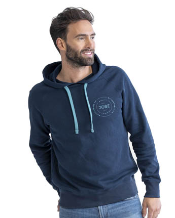Jobe Hooded Sweater Midnight Blue