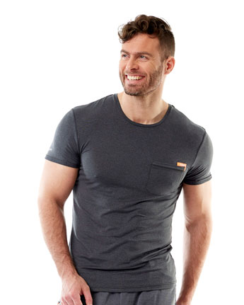 Jobe Discover T-Shirt Men Dark Graphite